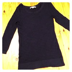 Ann Taylor Loft Navy Sweater